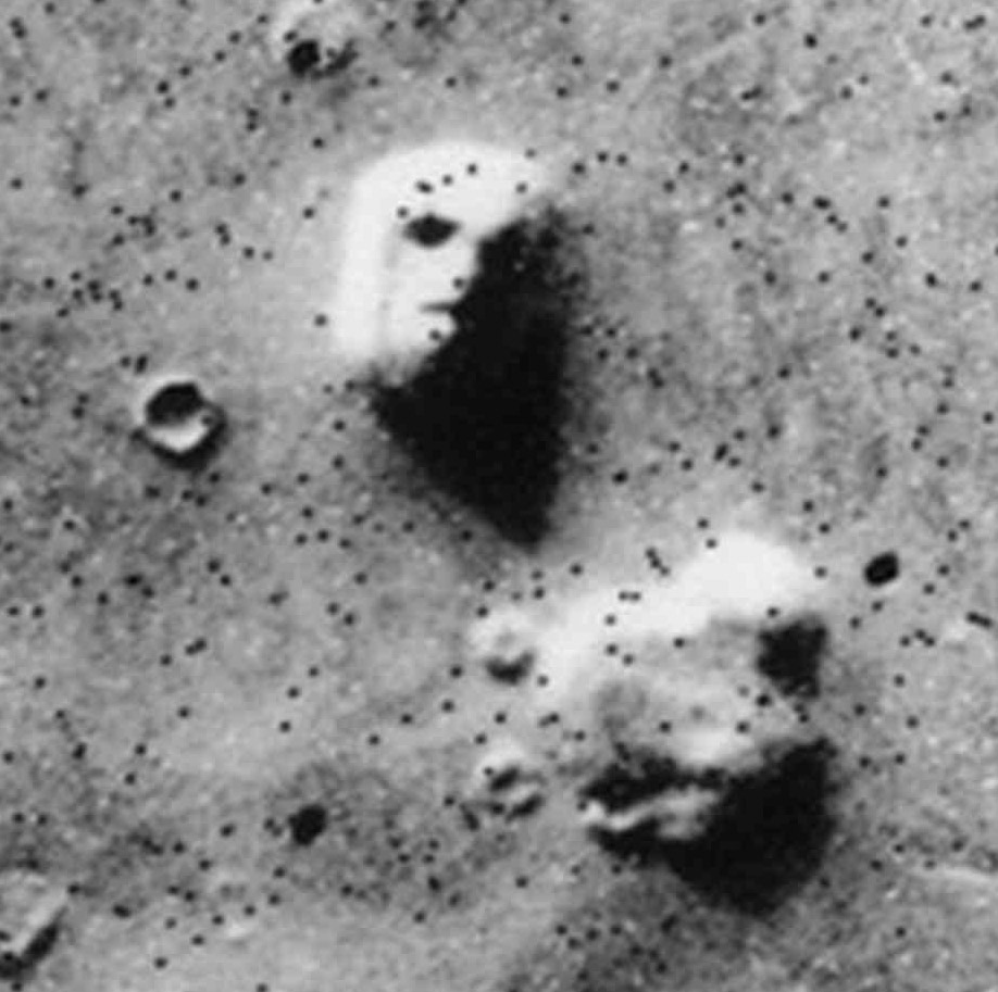 Face on Mars from the psychics view was spot on correct